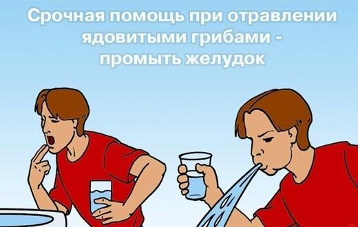 Какие напитки могут ускорить отравление грибами