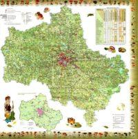 Карта грибника Подмосковья