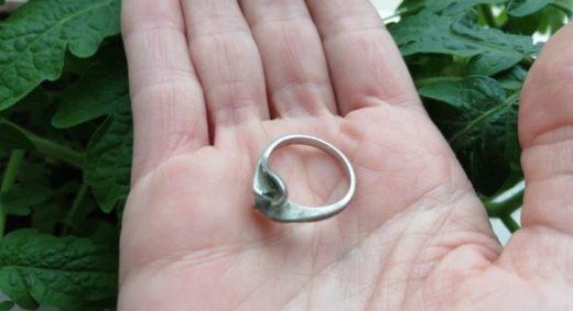 В канун Дня грибника сахалинка нашла под боровиком потерянное четыре года назад кольцо