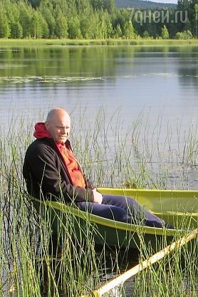 Алексей Кортнев насобирал поганок в Финляндии