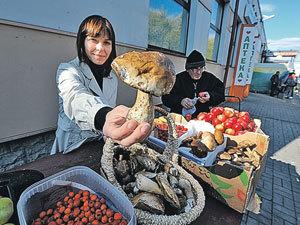 По дороге из глубинки в Москву грибы дорожают в 15 раз