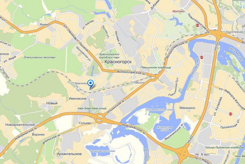 Новая Рига и Волоколамское шоссе