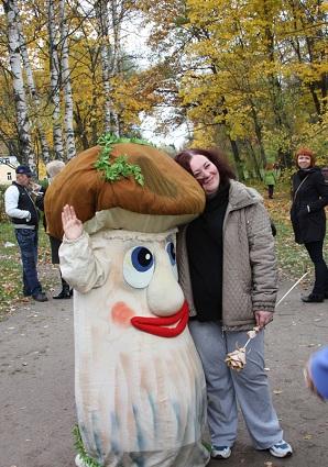 Фестиваль грибов и ягод в Павловске