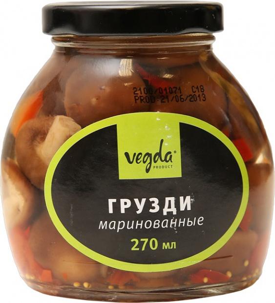 Грузди маринованные «Vegda»