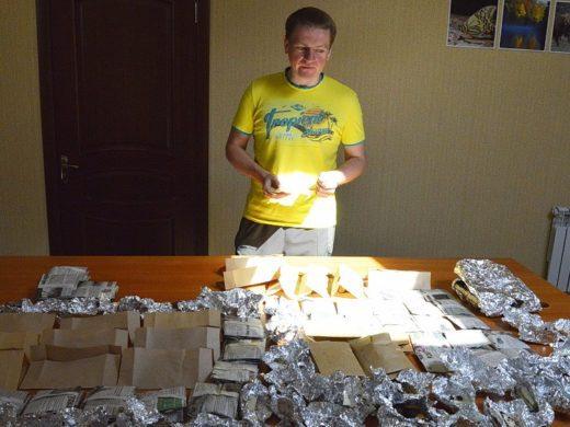 Специалисты-микологи из Ботанического института имени В.Л. Комарова в очередной работали в заповеднике «Брянский лес»