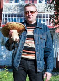 Житель Пермского края нашел белый гриб весом более килограмма