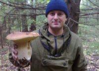 Нашли гриб-великан