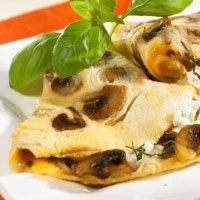 Почему нужно есть омлет с грибами