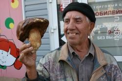 На рынках Барнаула наблюдается наплыв грибников